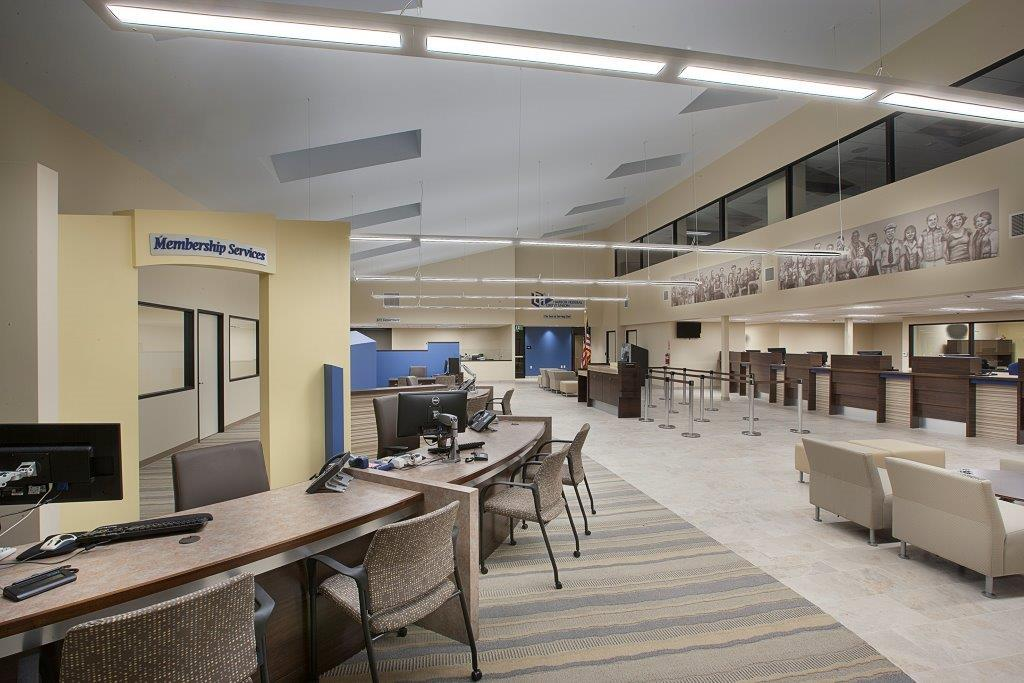 Harbor Federal Credit Union interior