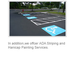 ADA Striping and Handicap Painting Services