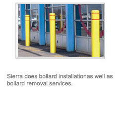 bollard installation and removal services