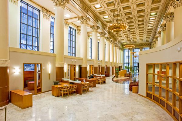 credit union interior