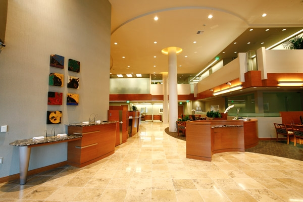 credit union lobby layout