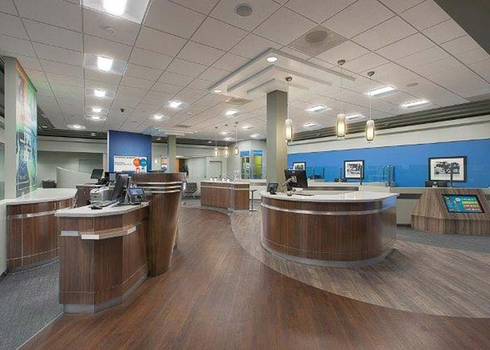 commercial bank remodeling