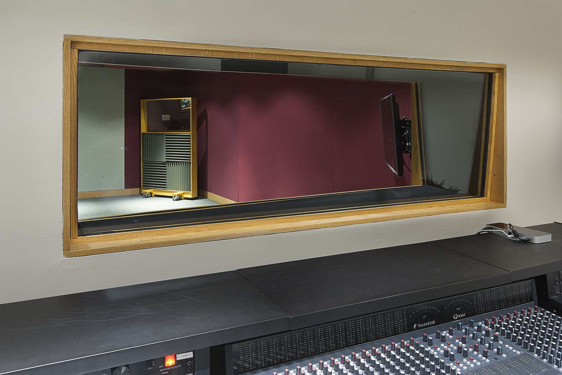 sound studio construction
