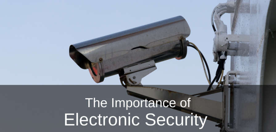 importance of electronic security
