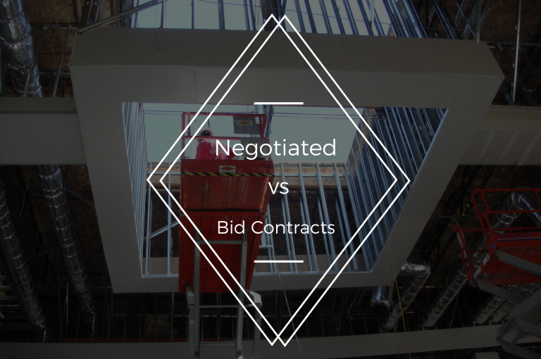 negotiated vs bid contracts