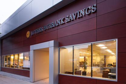 Luther Burbank Savings Front of Building